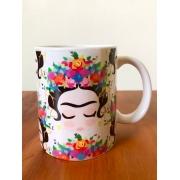 Caneca em Porcelana 300 ml - Frida Kahlo