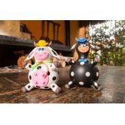 Casal Boi e Vaca em Cabaça