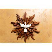 Divino Resplendor em Madeira 26 cm x 24 cm