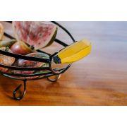 Fruteira ferro com alça de banana