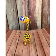 Girafinha em Cabaça com Aparelho nos Dentes