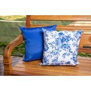 Jogo de capas para  almofadas  azul