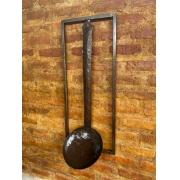 Moldura com Concha Decorativa - 90 x 37 cm