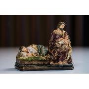 Nossa Senhora Descansando em Resina