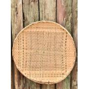 Peneira Artesanal de Bambu e Palha - 60 cm