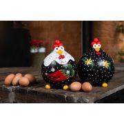 Porta ovos em cabaça com tampa