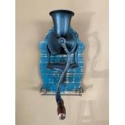 Porta Toalha de Parede Moedor de Café em Ferro - Azul