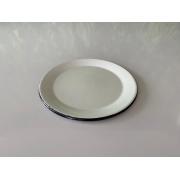 Prato de Sobremesa em Ágata Branco - 20 cm de Diâmetro
