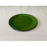 Prato de Sobremesa em Ágata Verde - 20 cm de Diâmetro