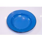 Prato em Ágata Azul - 22 cm de Diâmetro
