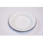 Prato em Ágata Branco - 22 cm de Diâmetro
