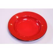 Prato em Ágata Vermelho - 22 cm de Diâmetro