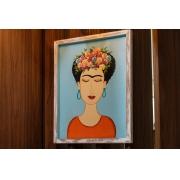 Quadro Frida Kahlo - 50 x 40 cm