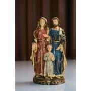 Sagrada Família em Resina - 30 cm