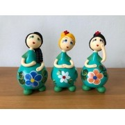 Trio de Bonecas Tiffany
