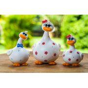 Trio de Patos em Cabaça - Branco