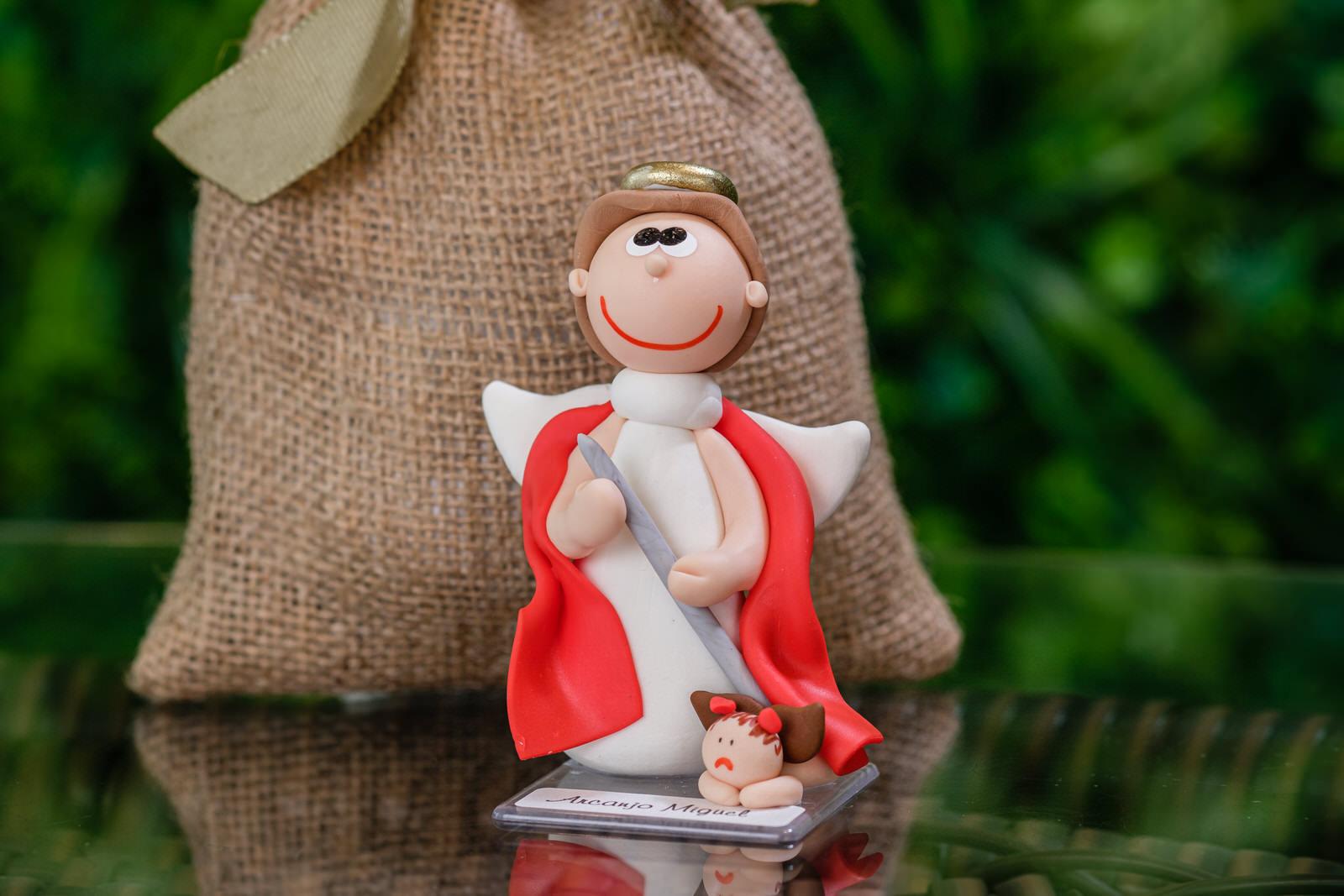 Arcanjo Miguel em Biscuit