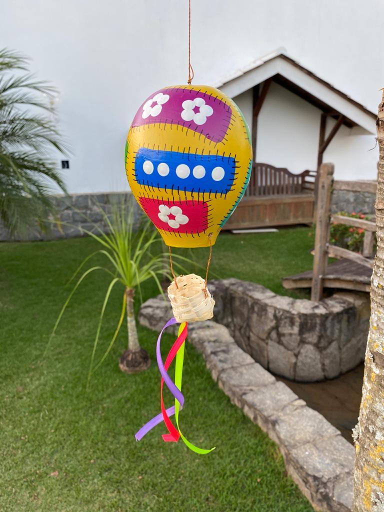 Balão Decorativo em Cabaça - Amarelo