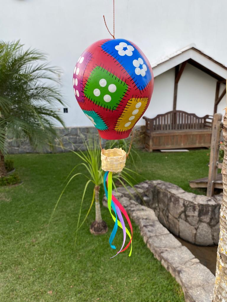 Balão Decorativo em Cabaça - Vermelho