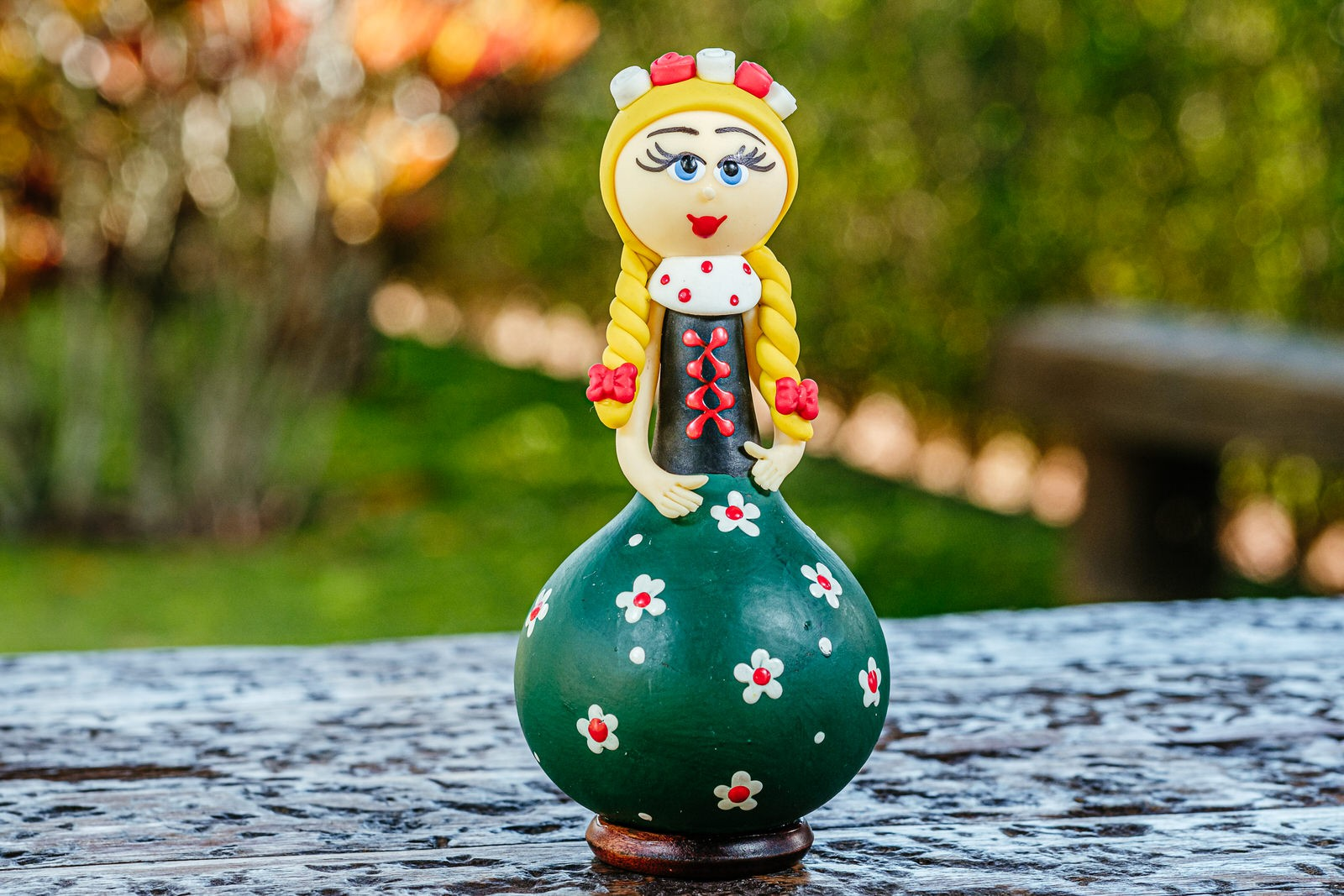 Boneca Alemã em Cabaça