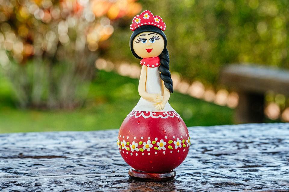 Boneca Russa em Cabaça