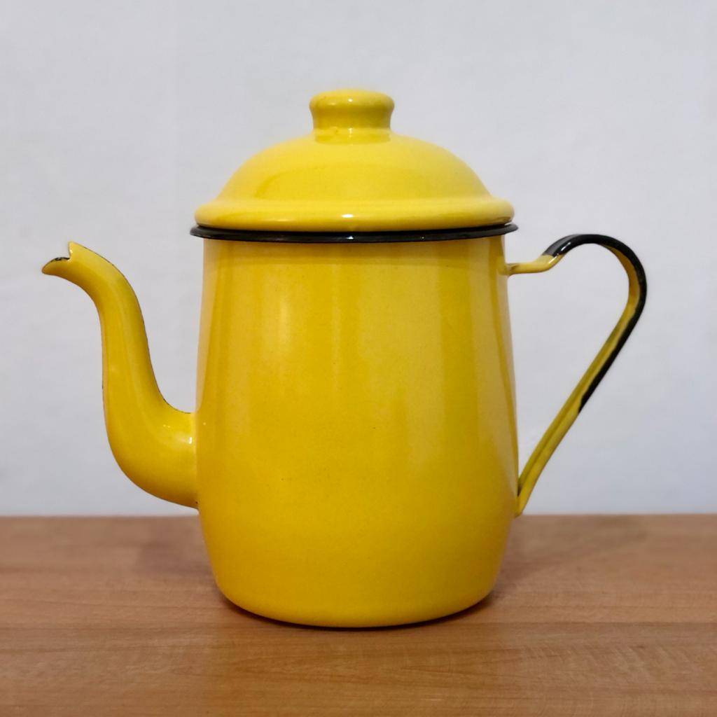Bule em Ágata Amarelo - 1 Litro