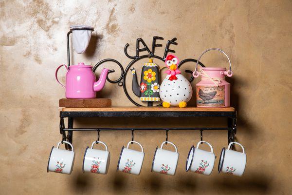 Kit cantinho do café especial com mini bule