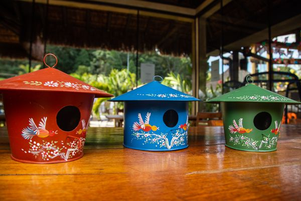Casa de Pássaros para Jardim