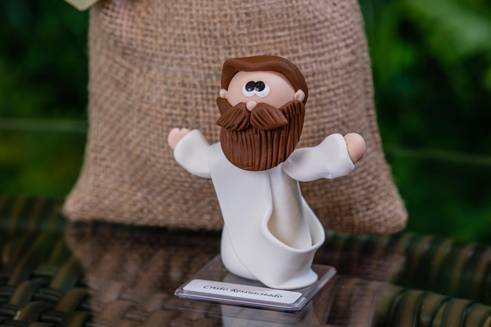 Cristo Ressuscitado em Biscuit