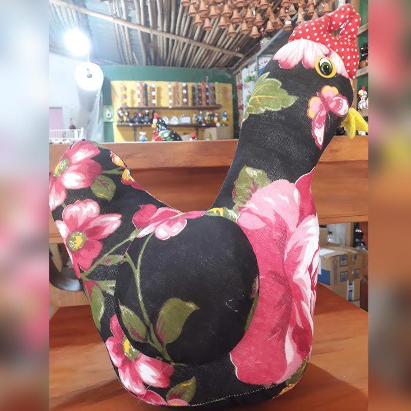 Encosto peso para porta galinha em tecido