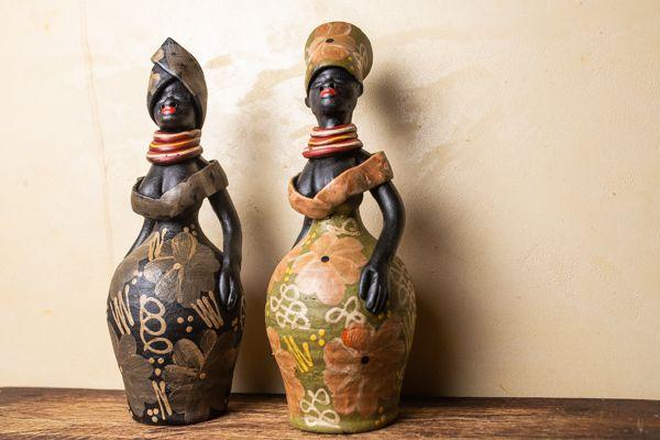Escultura Africana em argila
