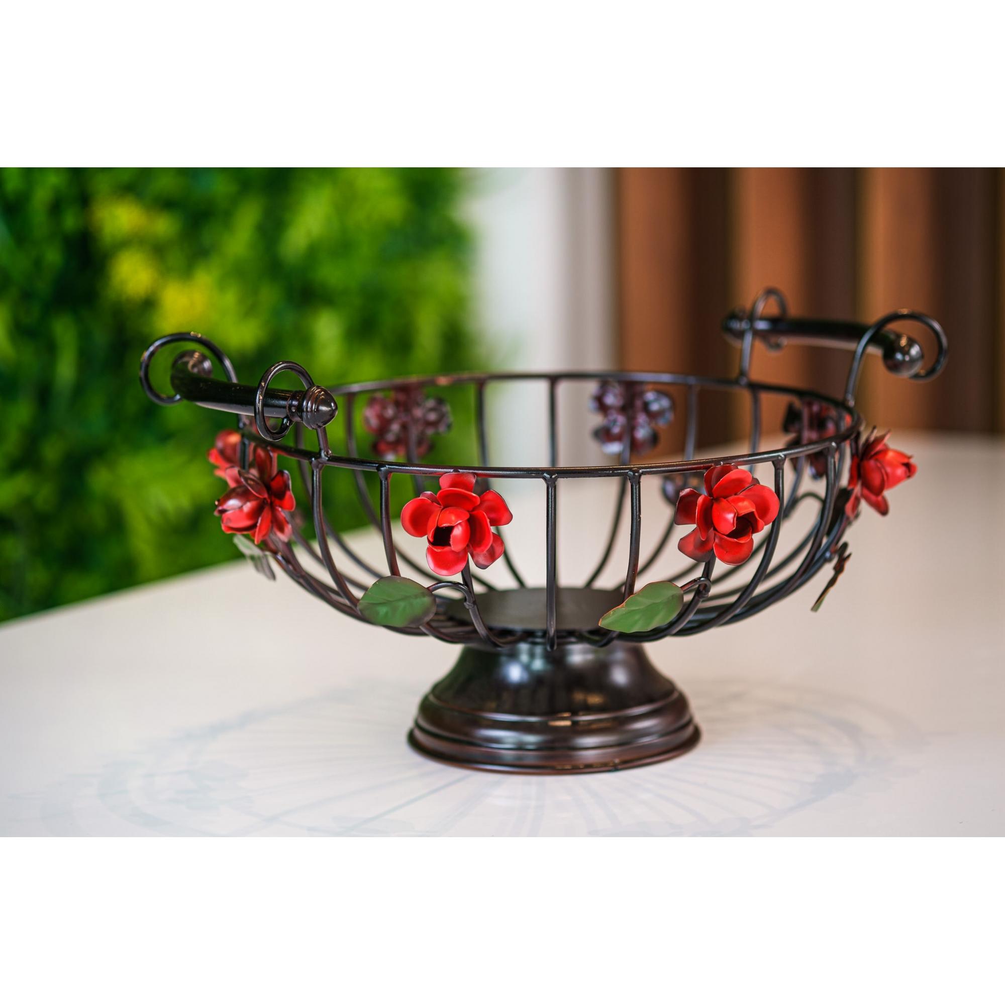 Fruteira floral - vermelha