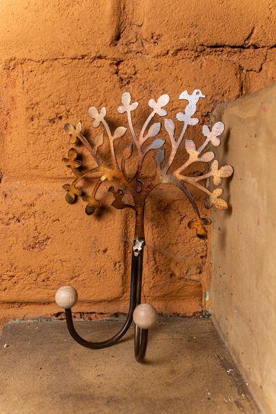 Gancho Duplo em Formato de Árvore da Felicidade