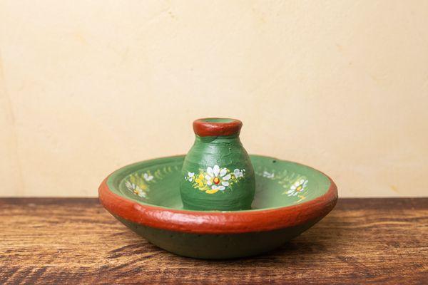 Incensário em cerâmica