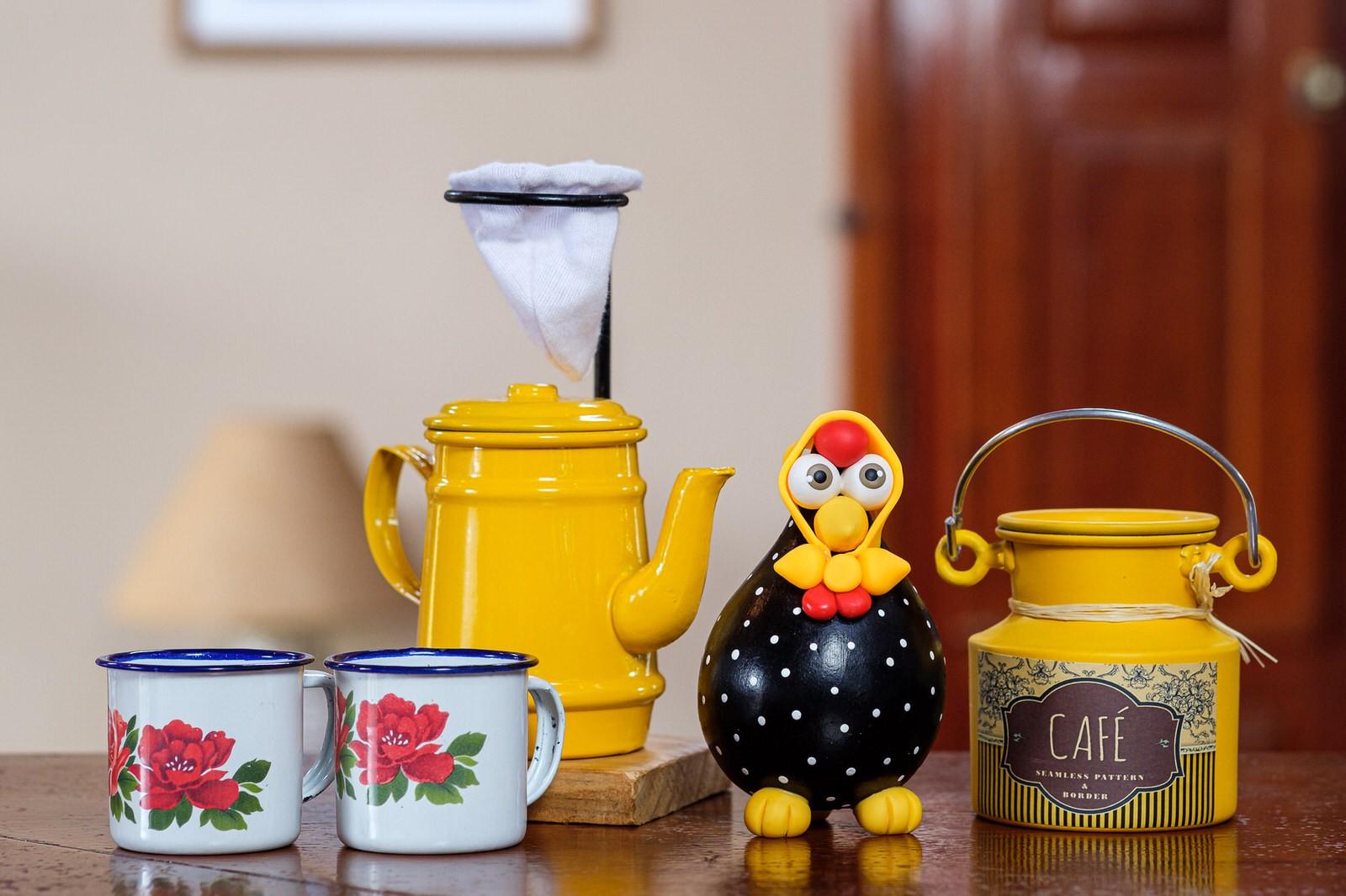 Kit Café Cheio de Mineirice - Amarelo II