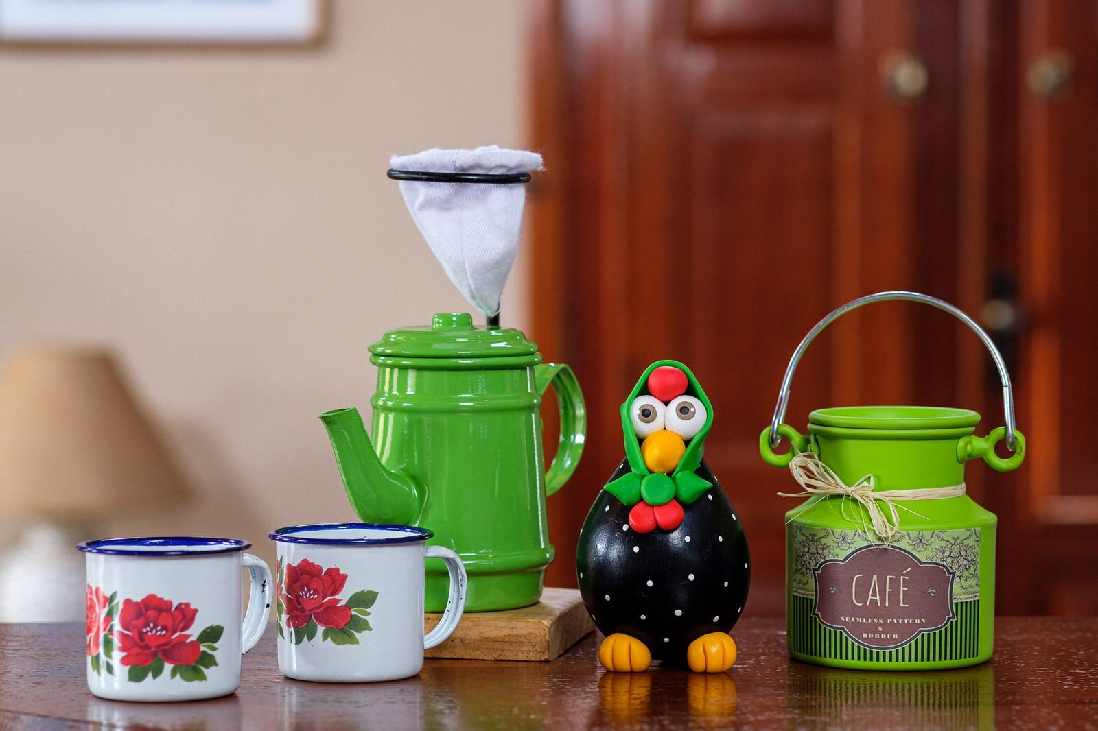 Kit Café Cheio de Mineirice - Verde Claro
