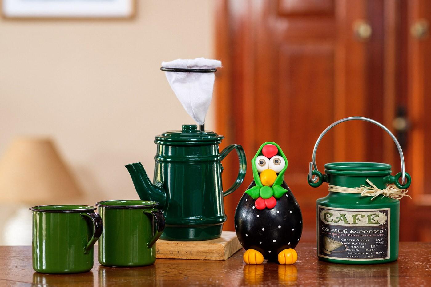 Kit Café Cheio de Mineirice - Verde Escuro I
