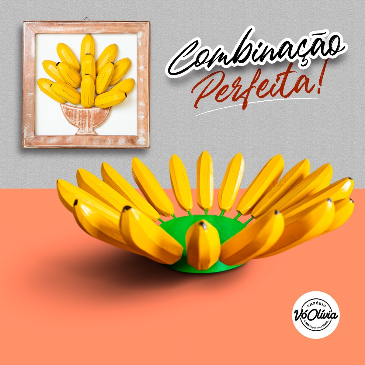 Kit Combinação Perfeita - Banana