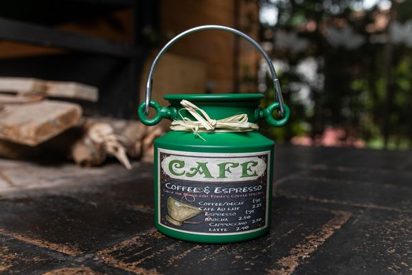 Leiteira de 1 litro decoupage vintage