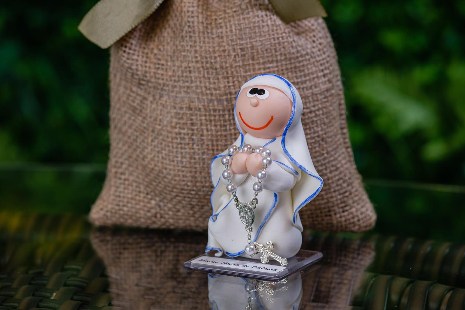 Madre Teresa de Calcutá em Biscuit