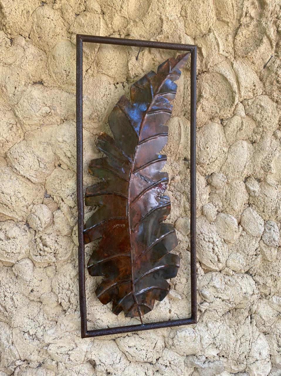Moldura com Folha Decorativa I - 90 x 37 cm