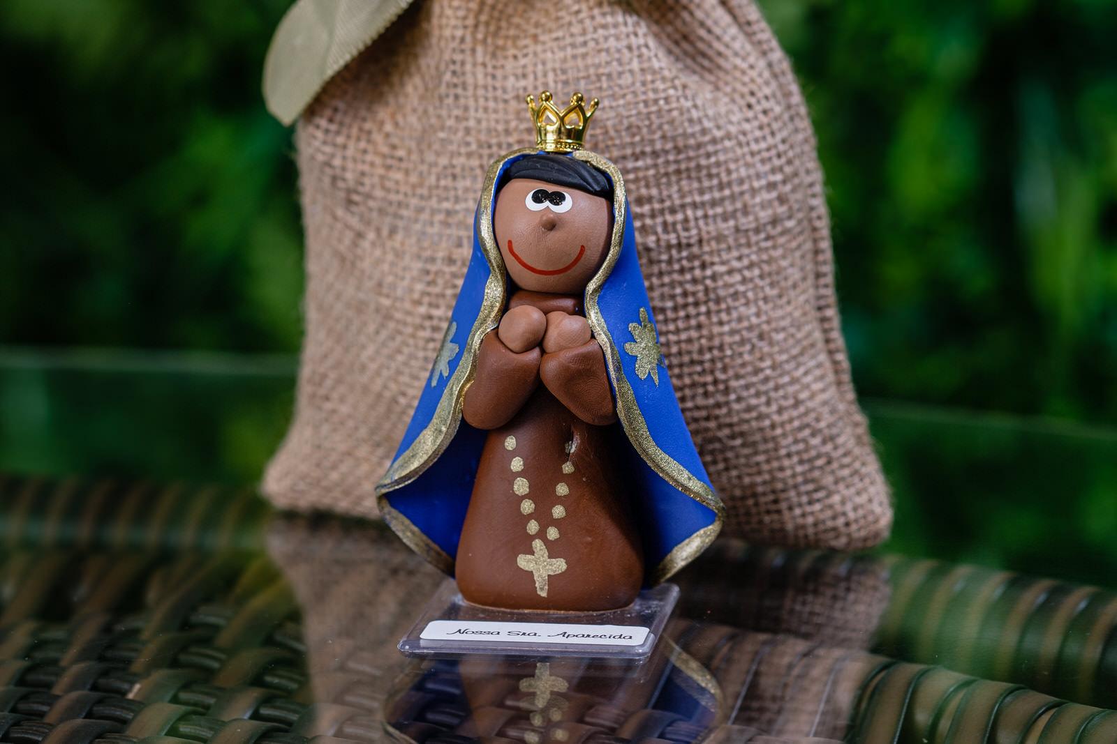 Nossa Senhora Aparecida em Biscuit