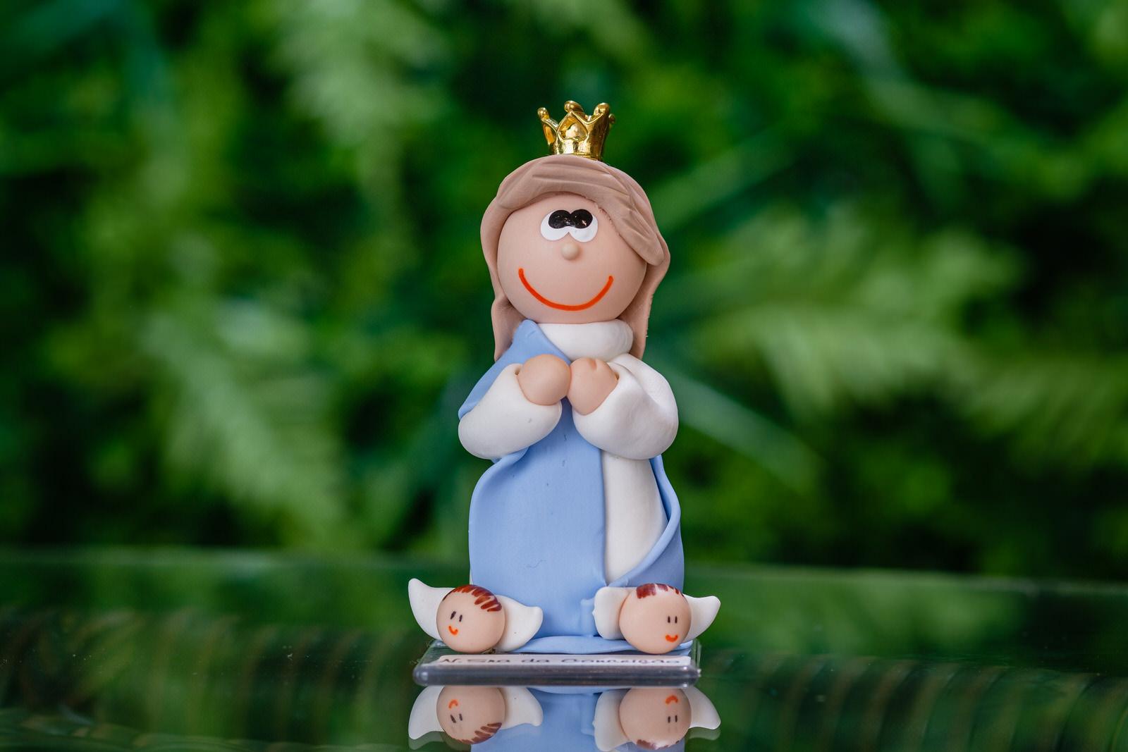 Nossa Senhora da Conceição em Biscuit