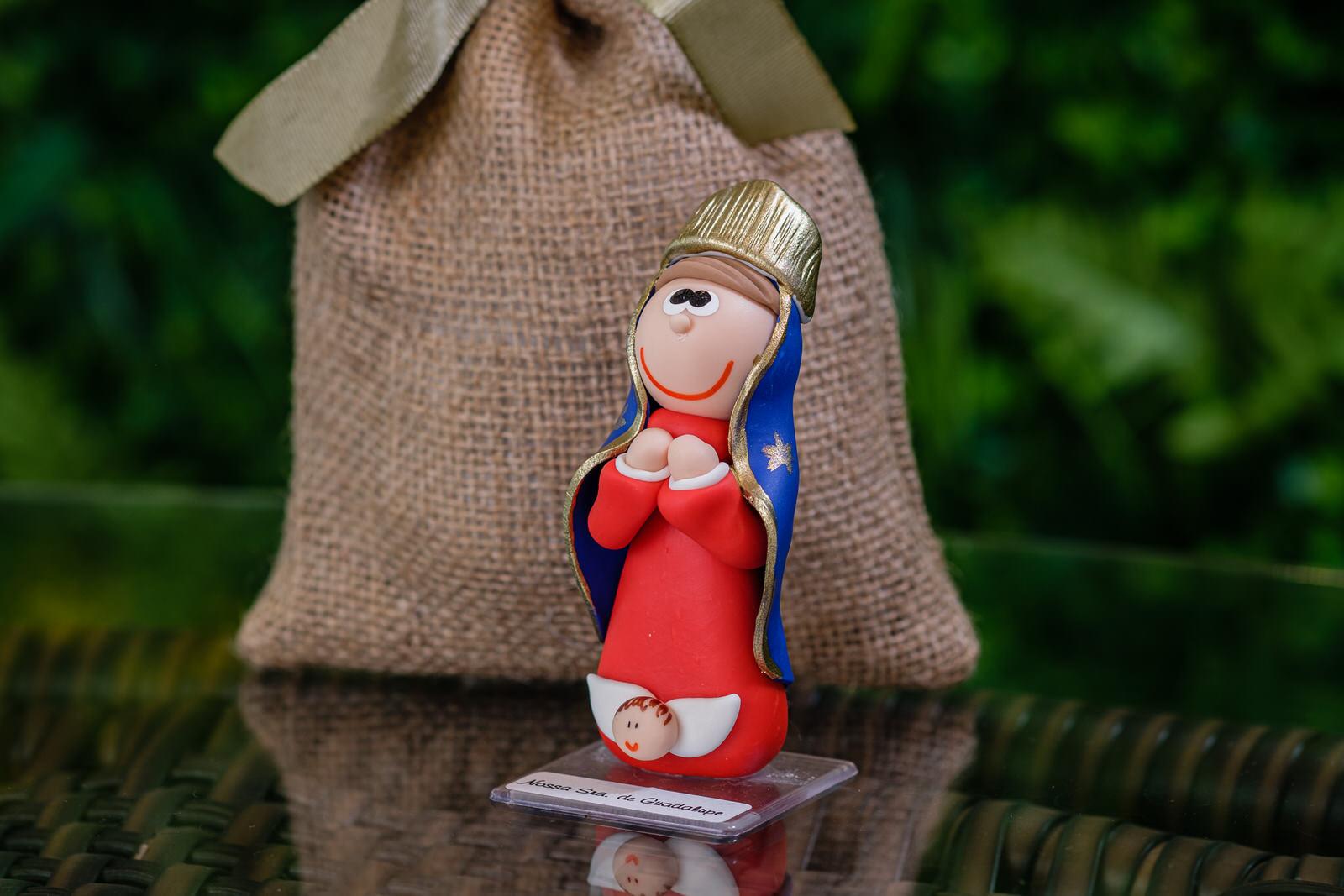 Nossa Senhora da Guadalupe em Biscuit