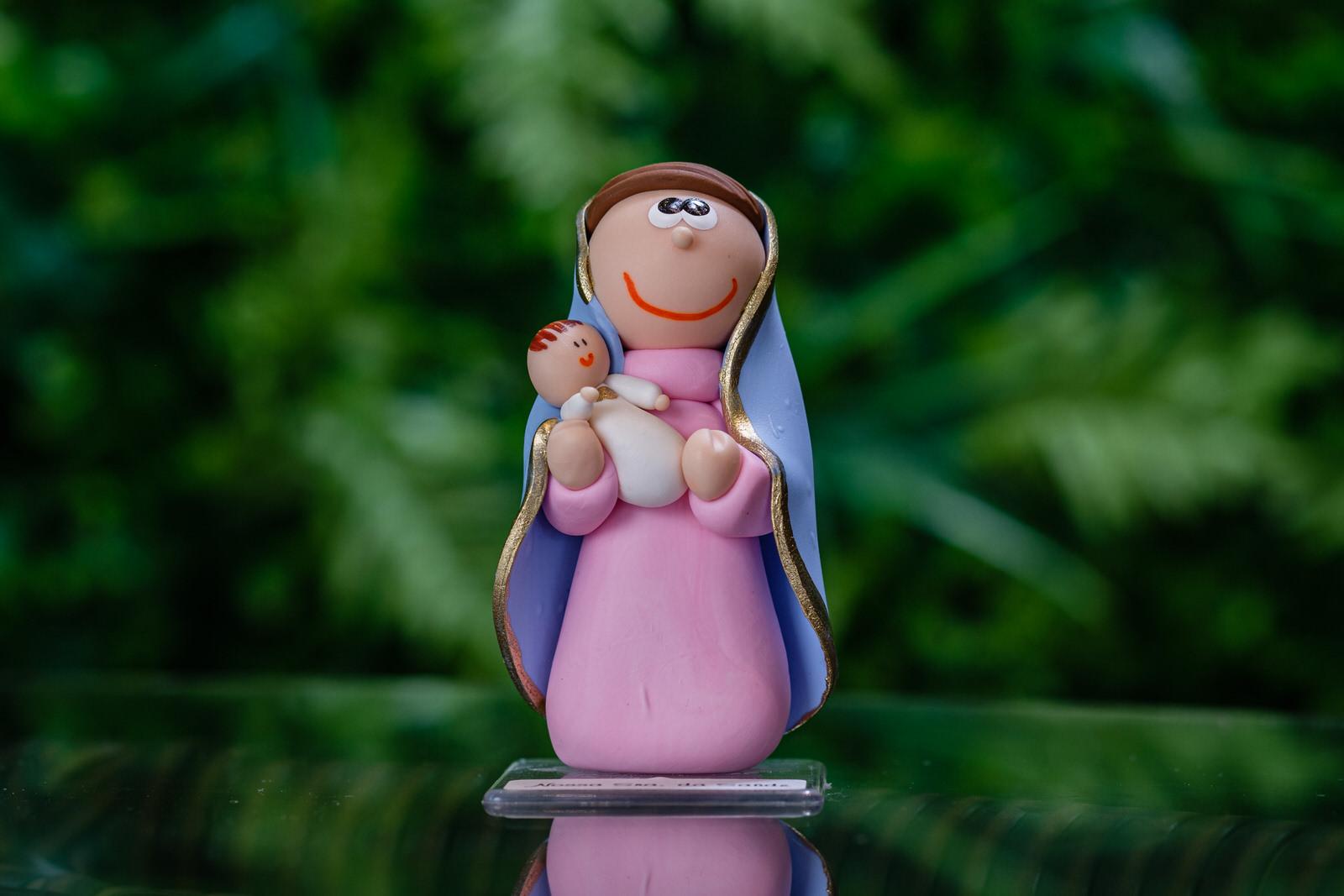 Nossa Senhora da Saúde em Biscuit