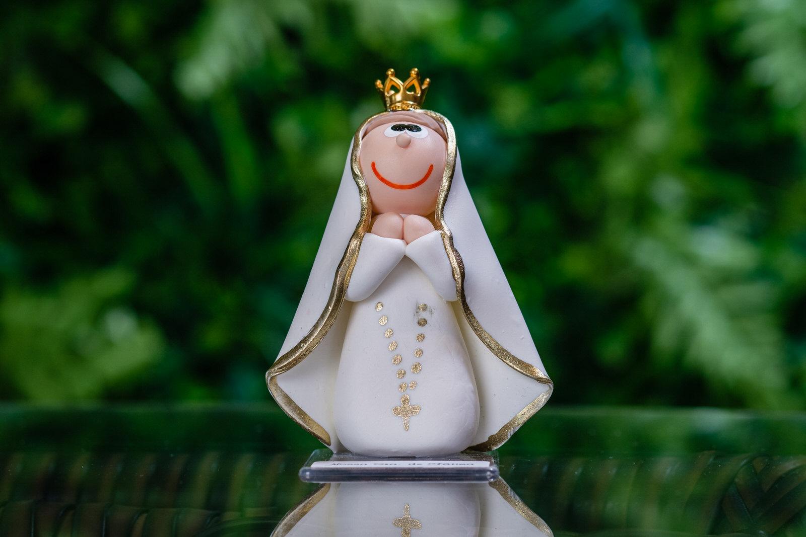 Nossa Senhora de Fátima em Biscuit