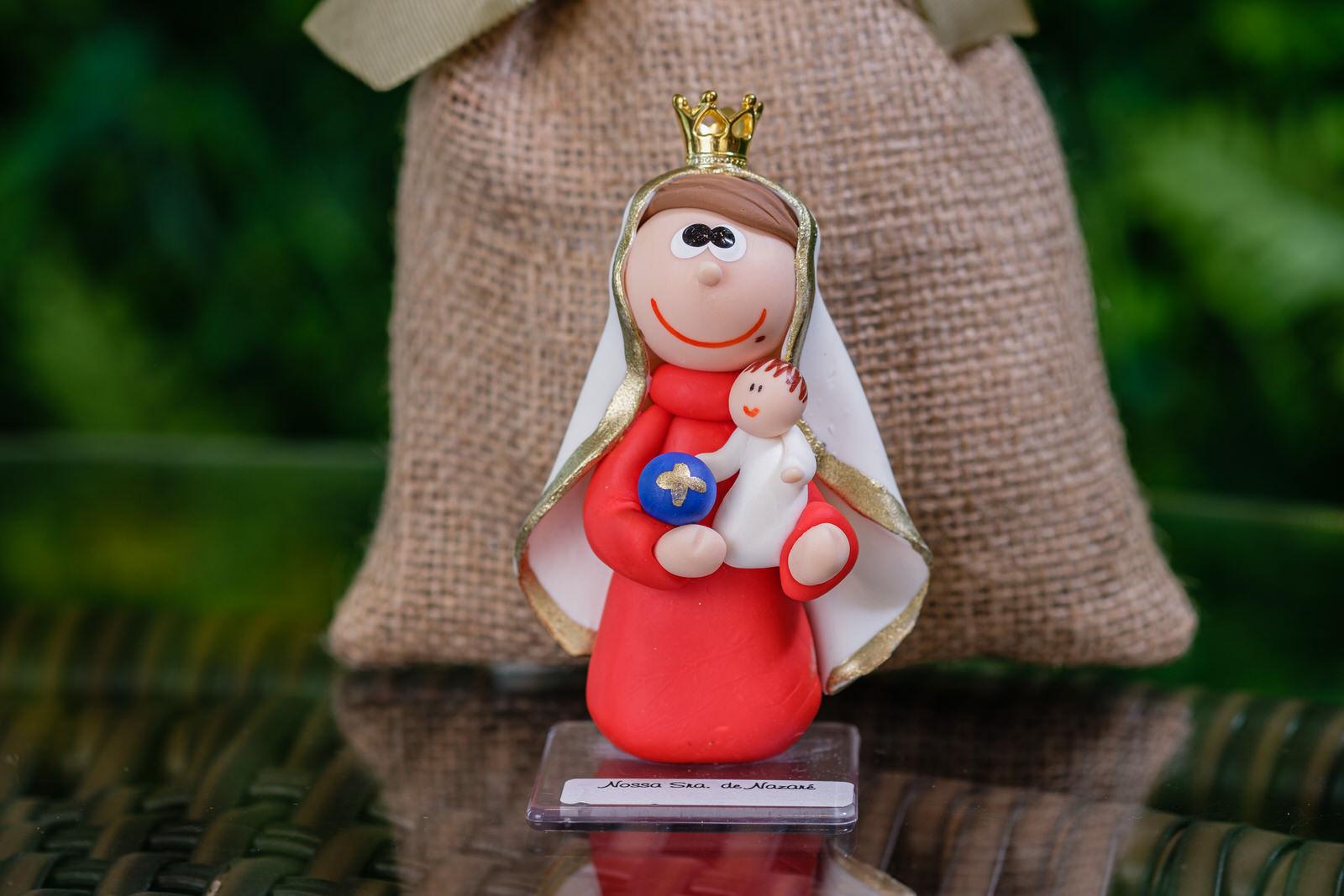 Nossa Senhora de Nazaré em Biscuit