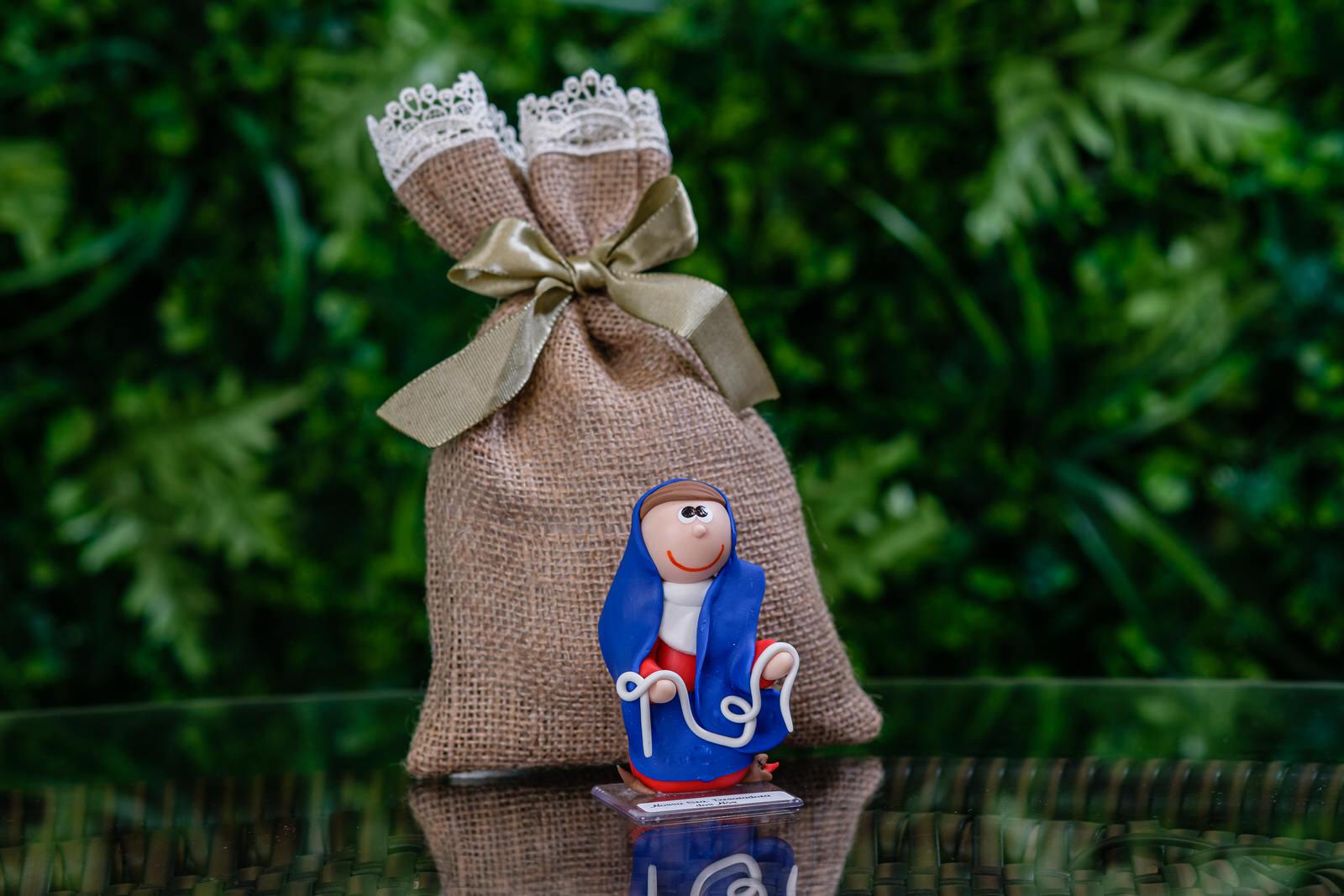 Nossa Senhora Desatadora dos Nós em Biscuit