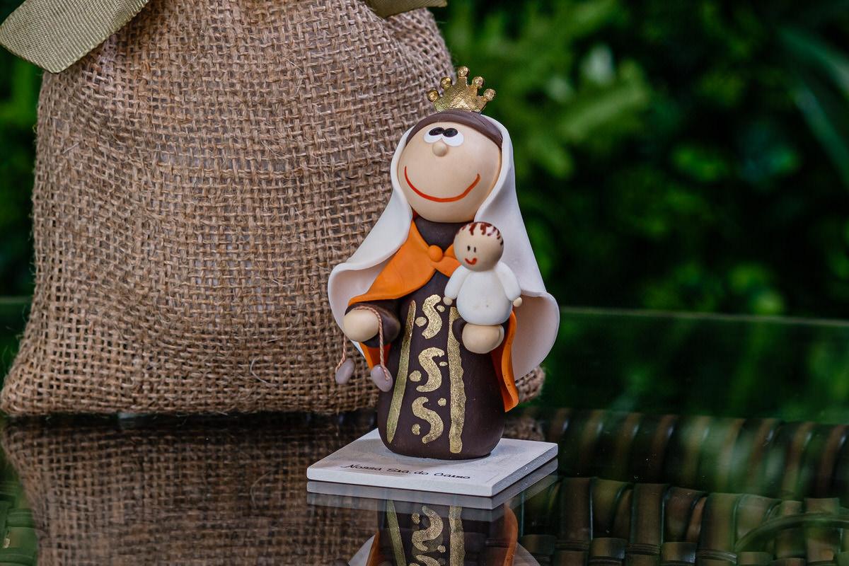 Nossa Senhora do Carmo em Biscuit