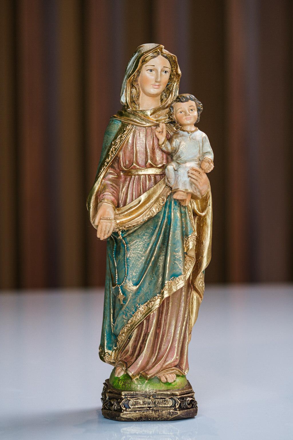 Nossa Senhora do Rosário em Resina - 30 cm